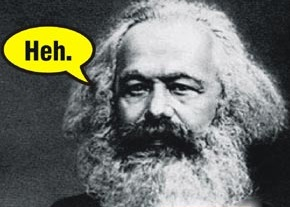 What percentage of Americans believe the U.S. Constitution is rooted in Marx?
