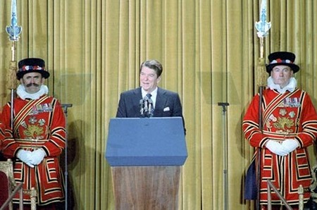 Reagan's 1982 speech to the British Parliament